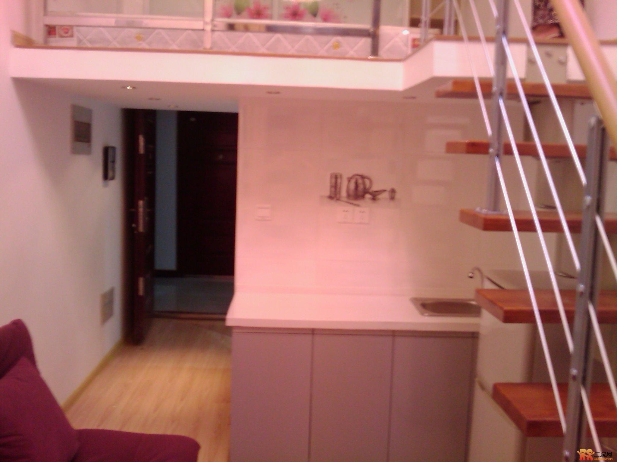 跃层式精装修单身公寓