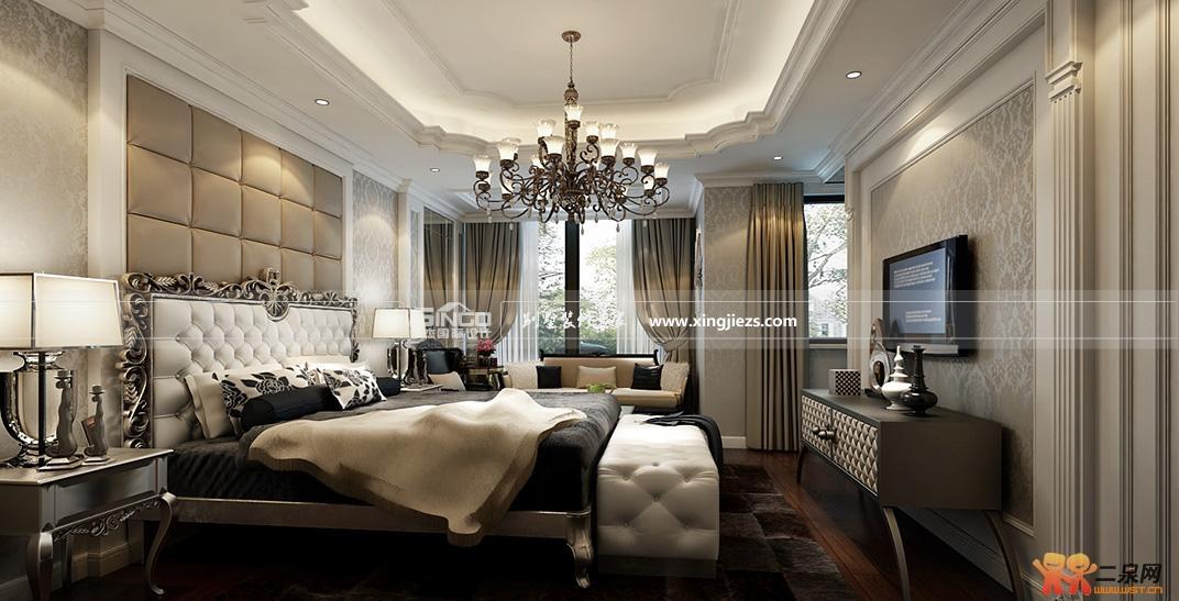 欧式风格典雅高贵别墅装修案例