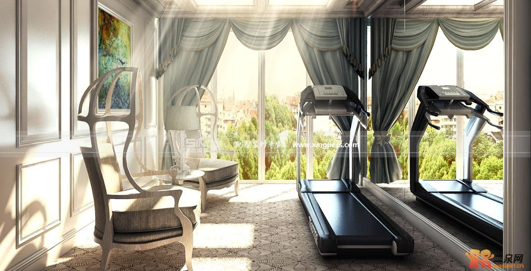 别墅豪宅装修效果图 星杰国际打造奢华霸气之家 无锡论坛