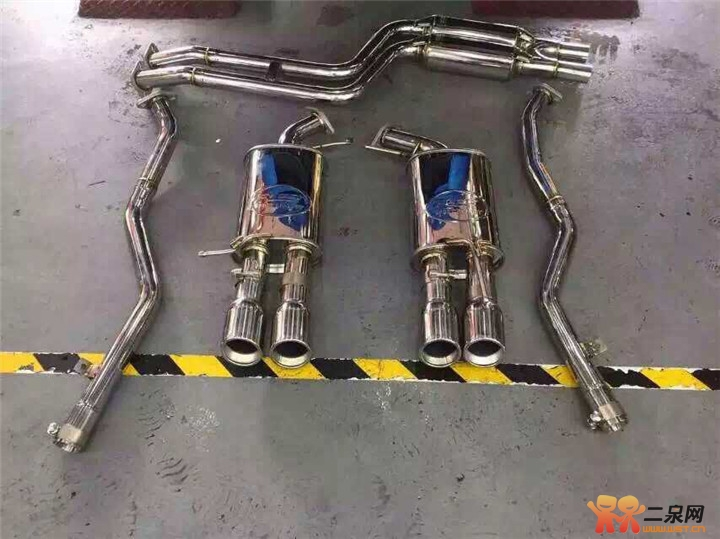 无锡专业改排气管宝马z4升级res中尾段四出排气