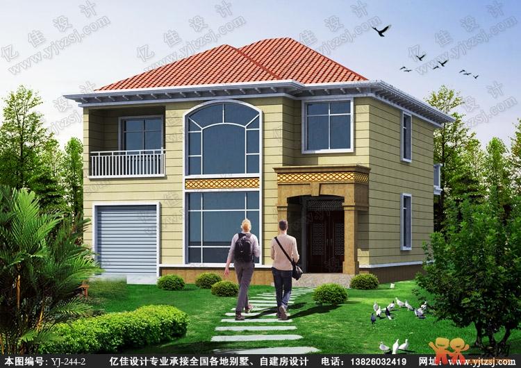 农村自建房设计图10x14展示