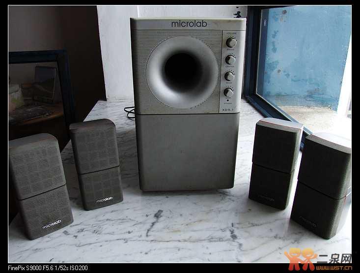 转让麦博(microlab) x3/5.1(停产)有源音箱