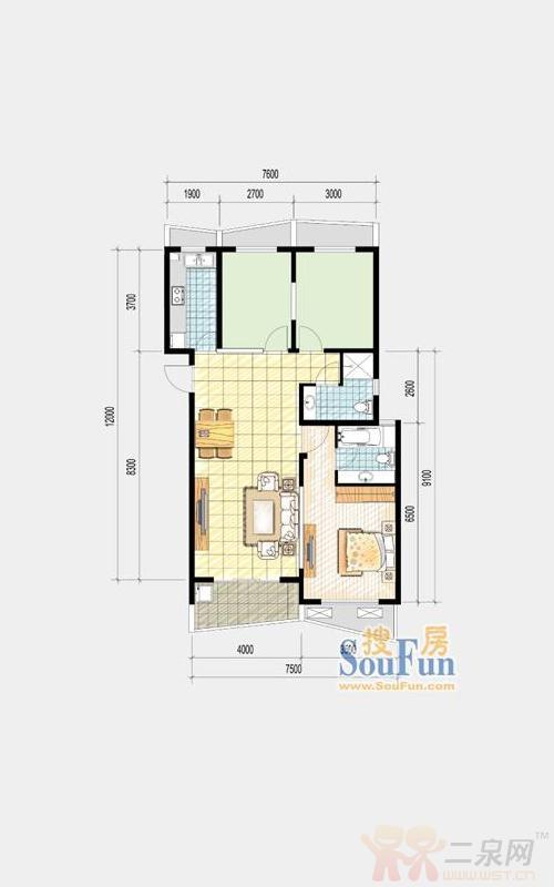 即将推出精装修波普公寓及波普洋房 户型 样板间 强烈 推荐