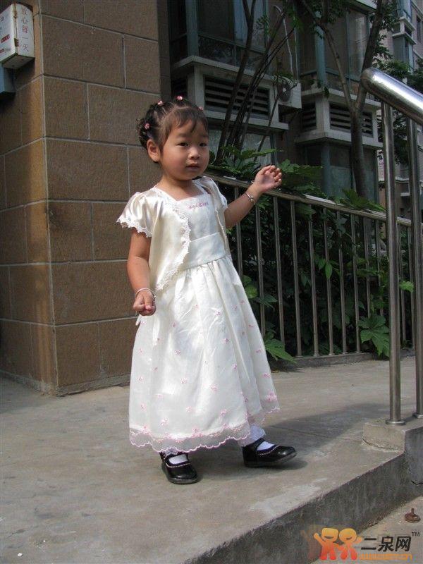 儿童公主纱裙 披肩