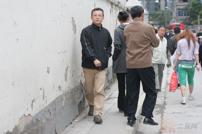 无锡史上最窄人行道 高清图片