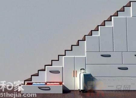 整体储物间可能是现在我们提供给读者的最常见的楼梯