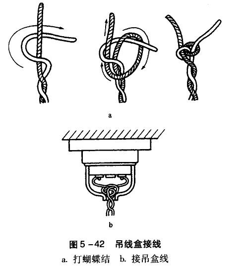 螺旋灯座接线示意图