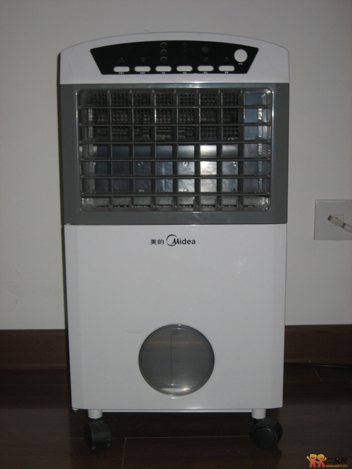 出个95成新的美的空调扇