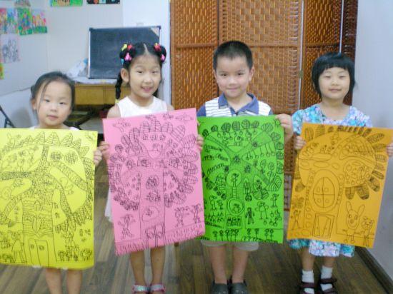 基础班学生绘画作品--生命大树