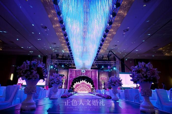 4层婚礼舞台欧式大气背景